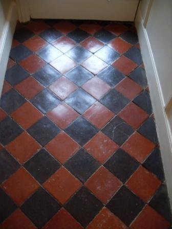 Quarry Tiled Floor - After
