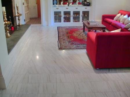 Marble Floor - After