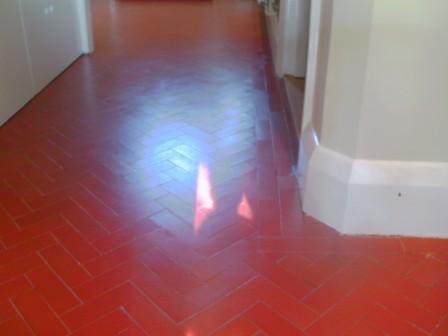 Quarry Tiled Floor - After