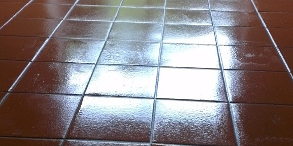 Quarry Tile Floor