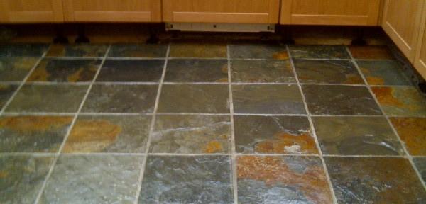 Slate Tile Flooring Cleaning In Northampton