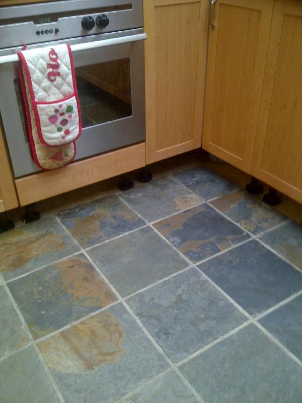 Slate Tiles Floor Kitchen | Zef Jam