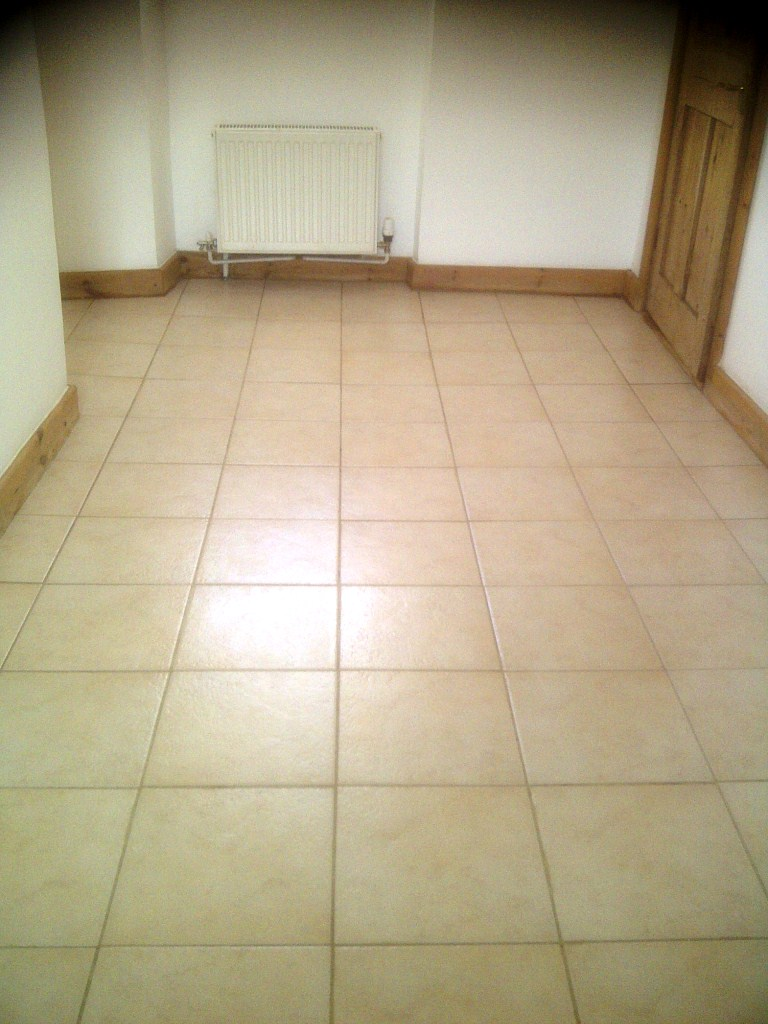 Ceramic Tiled Hallway After