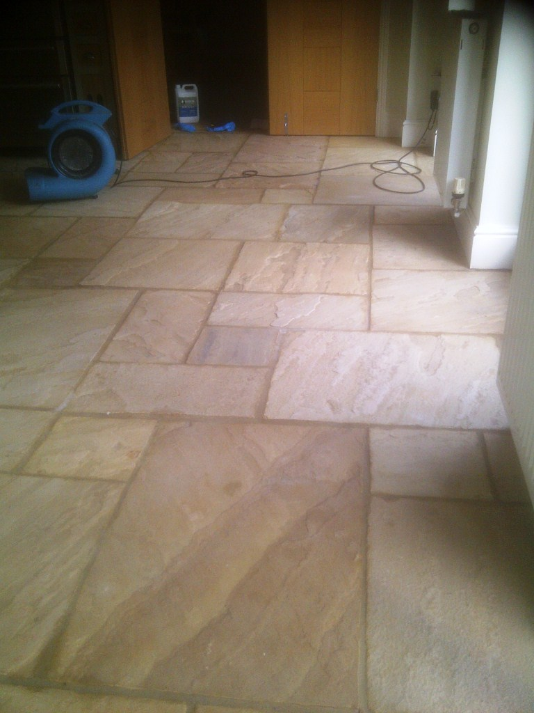 Sandstone Hannington After Cleaning