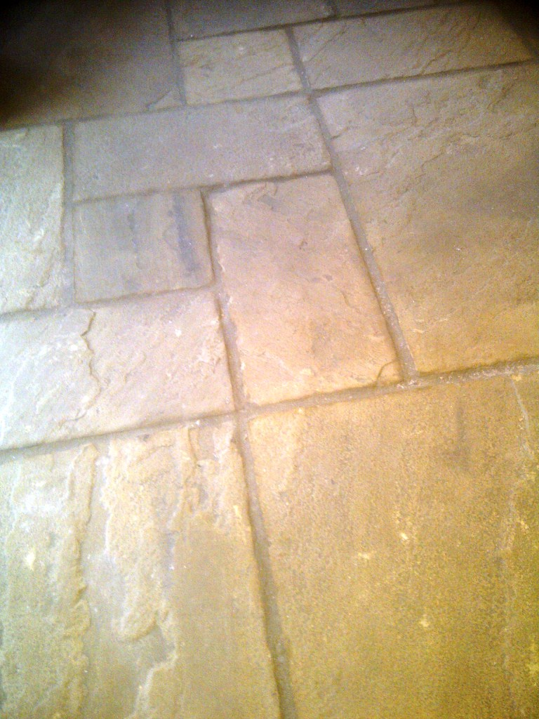 Sandstone Hannington Before Cleaning