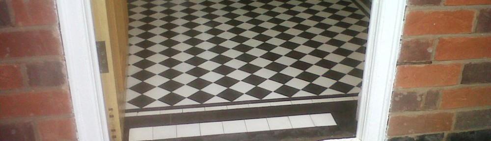 Restoring a Victorian Tiled Hallway in Towcester
