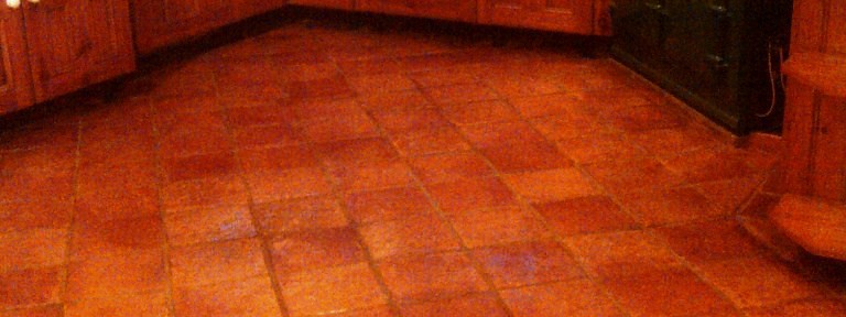 Kitchen Quarry Tile Cleaning and Sealing in Daventry