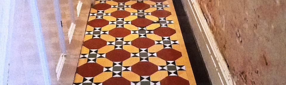 Restoring a Victorian Tiled Hallway in Kettering