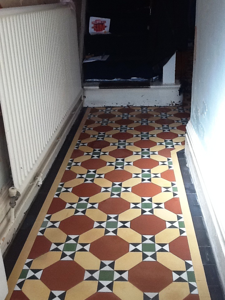 Victorian floor in Kettering after cleaning 2