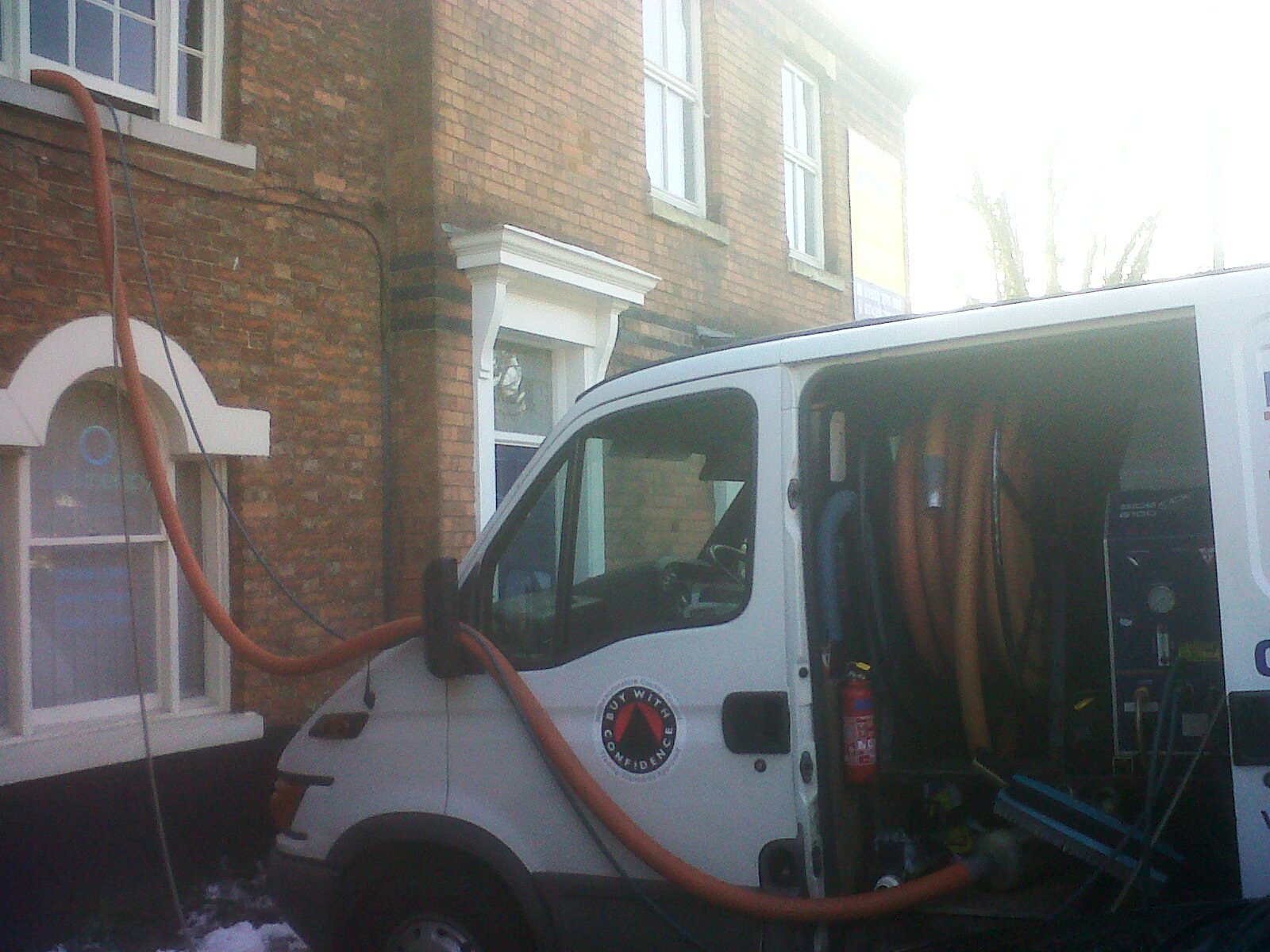 Tile Doctor Northamptonshire Truck Mounted Pressure Cleaning