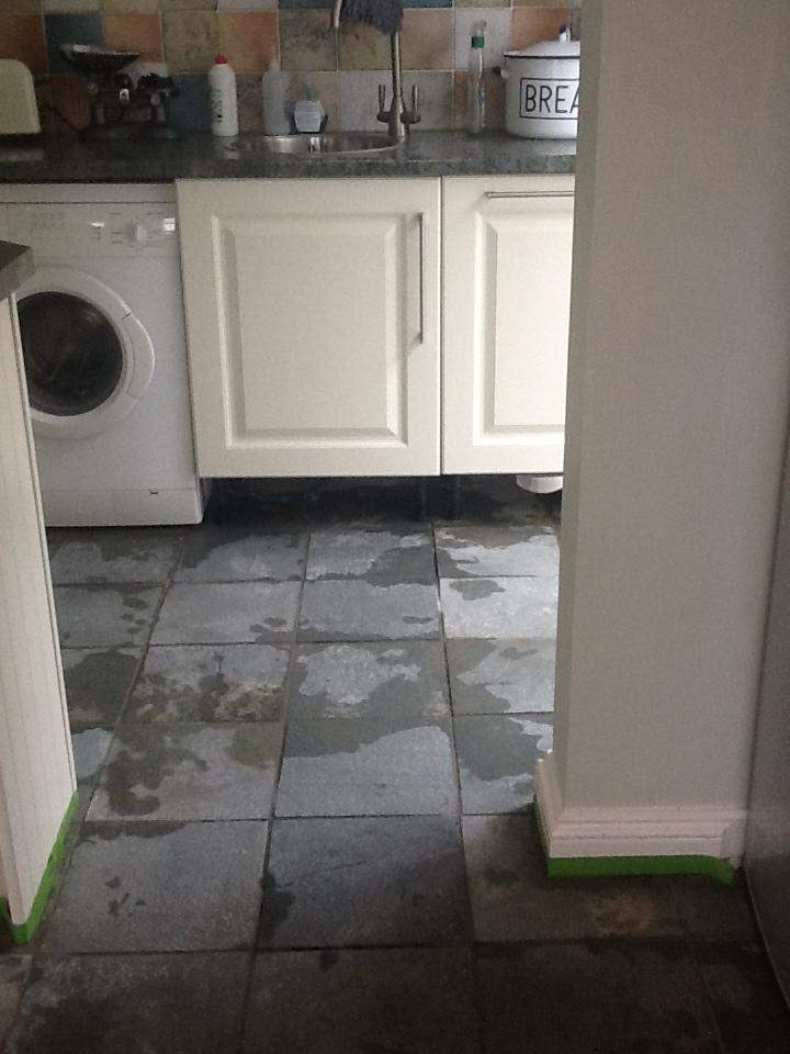 Slate Tiles Towcester After Cleaning