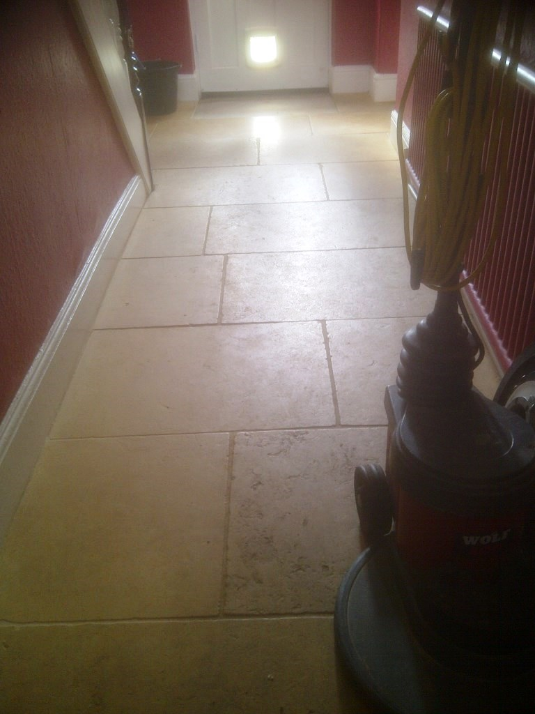 Noce Marble Before Cleaning Oundle