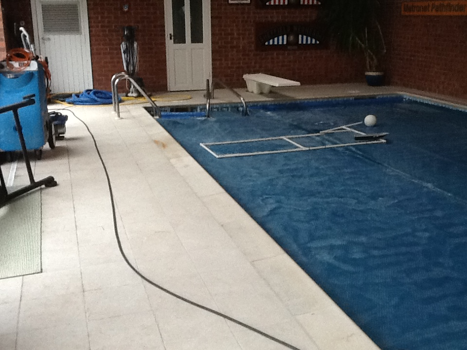 Cleaning Anti Slip Pool Tiles Tile Doctor Cleaning Service Business