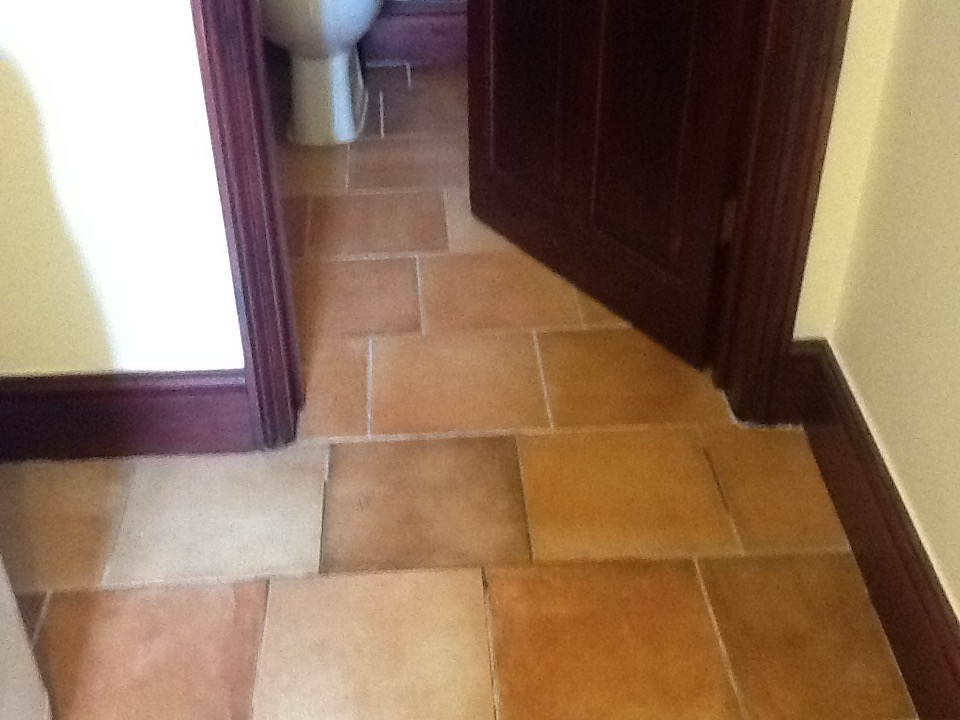 Cleaning Grout Ceramic Tiles in Rushden Before