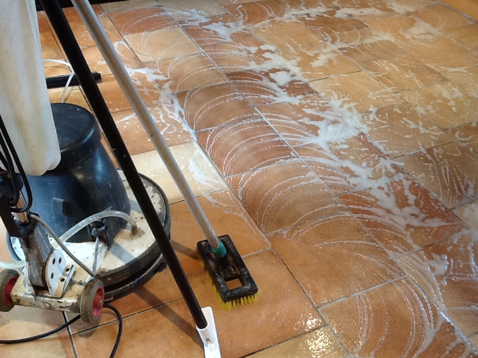 Cleaning Grout Ceramic Tiles In Rushden During
