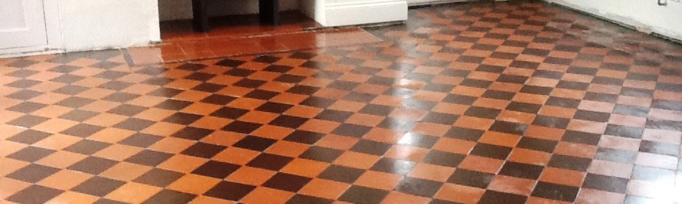 Restoring a Victorian Quarry Tiled Kitchen Floor in Rushden