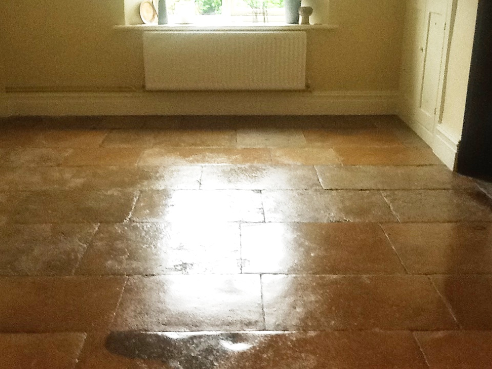 Flagstone Sitting Room Grafton Underwood After Cleaning