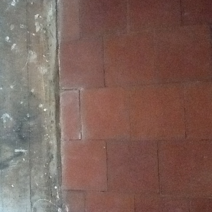 Red Quarry Tiles After Cleaning and Repair Abington