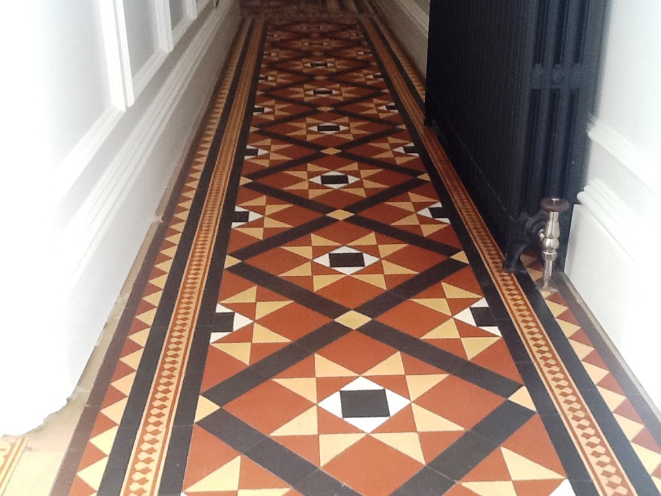 Victorian Tiles After Restoration Northampton