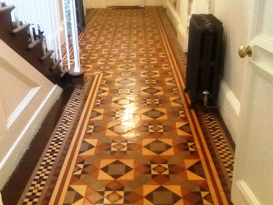 Victorian Tiles Stamford After Cleaning