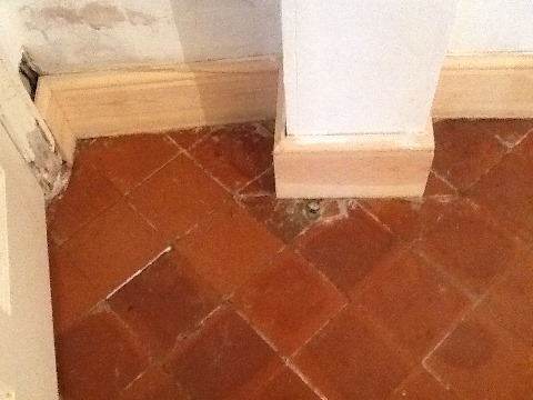 Quarry Tile After Cleaning Thrapston