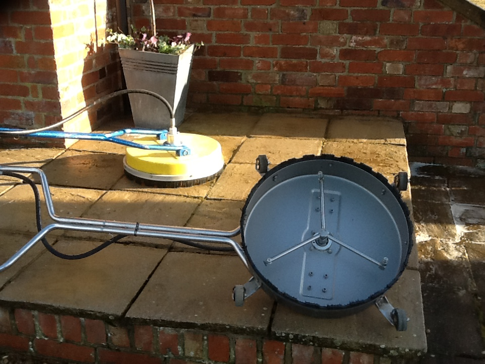 Sandstone Patio Brockhall Cleaning Equipment