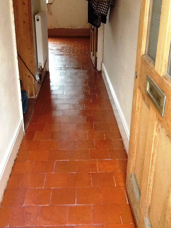 Red Quarry Tiles Higham Ferrers Northants After