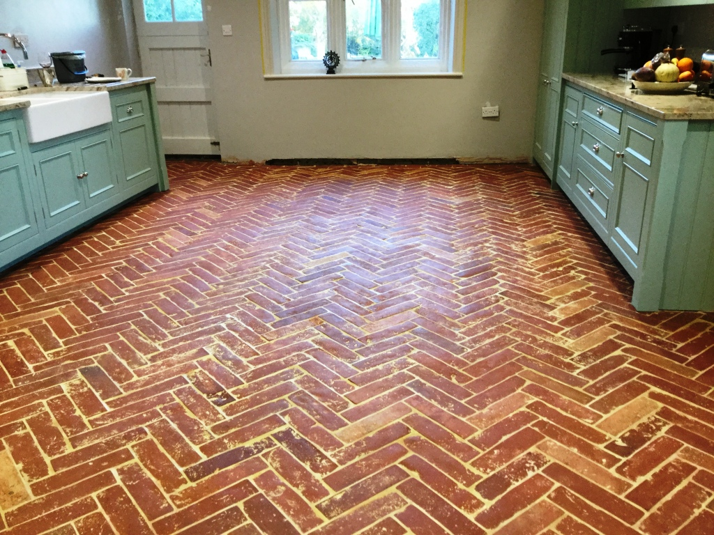 Terracotta tiles stone cleaning and polishing tips for herringbone design terracotta floor after cogenhoe dailygadgetfo Choice Image