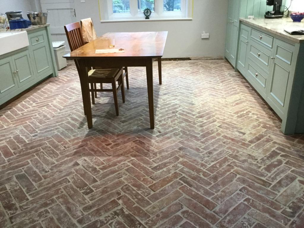 Tile cleaning stone cleaning and polishing tips for terracotta herringbone design terracotta floor before cogenhoe dailygadgetfo Choice Image