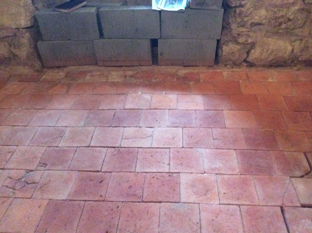 350 Year Old Original Quarry Tiles Salvaged And Restored