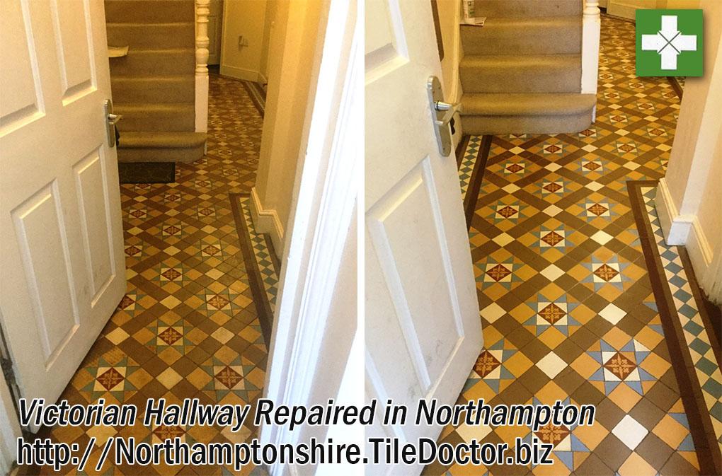 Victorian Hallway Restoration in Northampton