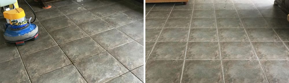 Ceramic Tile and Grout Deep Cleaned is a Rushden Sun Room