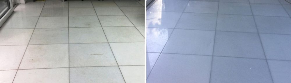 Marble Floor Tile Polishing in New Duston, Northampton