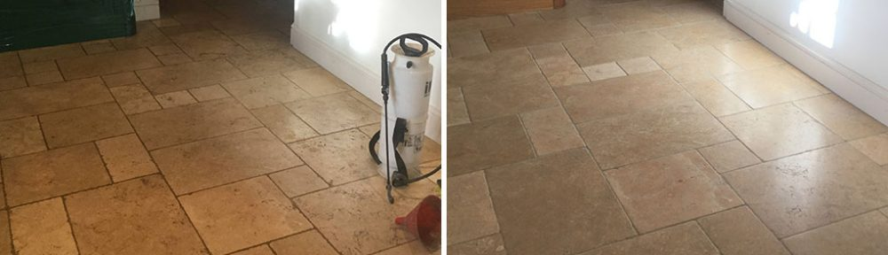 12-Year-Old Limestone Floor Renovation in Yelvertoft