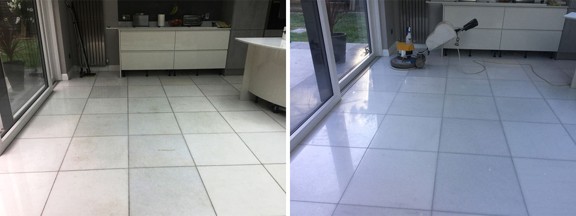 Marble Floor Restoration New Duston Polishing